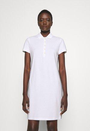 JADDOX SHORT SLEEVE DAY DRESS - Žerzejové šaty - white