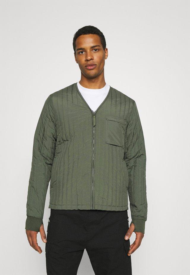 UNISEX LINER JACKET - Light jacket - olive