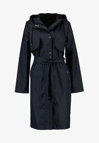 YAS - YASRAINA RAIN COAT - Waterproof jacket - carbon - 4