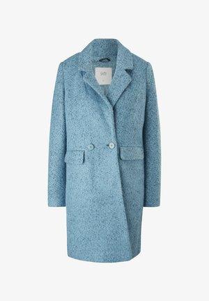 Halflange jas - blau
