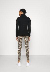 MAMALICIOUS - MLSANNIE 2 PACK - Leggings - Trousers - black - 2