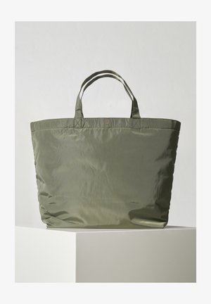 Shopping bag - beetle green