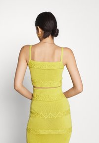 Glamorous - CARE CROPPED CAMI - Top - olive green - 2