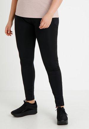 LADIES CAMO STRIPED - Legging - black
