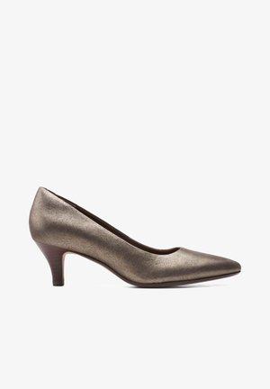 LINVALE JERICA - Classic heels - metallic leer