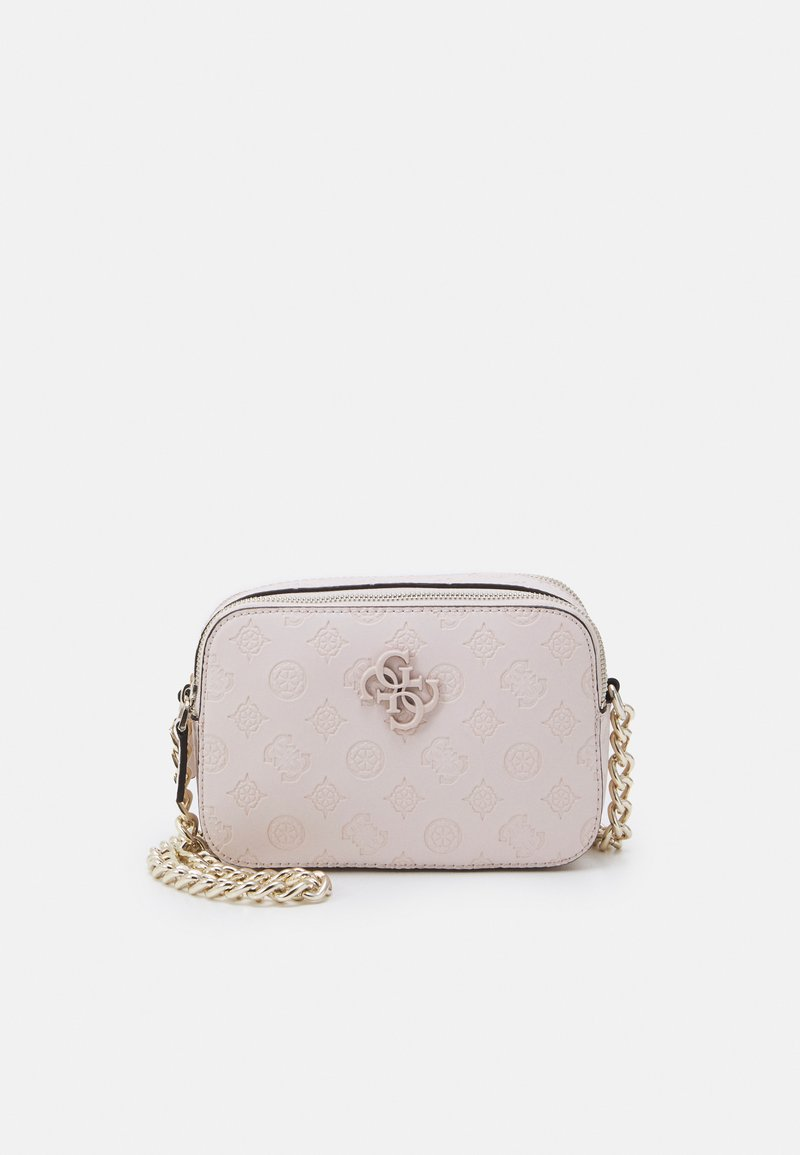 Guess - NOELLE CROSSBODY CAMERA - Skulderveske - blush