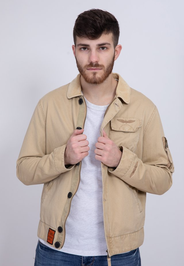 SUNDECK - Summer jacket - beige