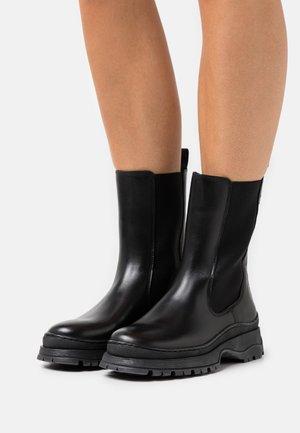 LILANNA - Platform ankle boots - black