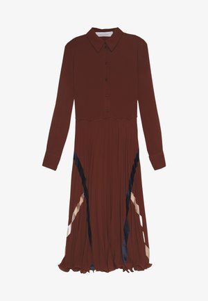 Shirt dress - sepia brown