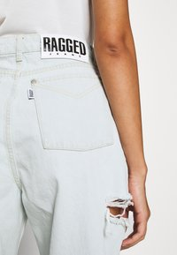 The Ragged Priest - DOUBLE THIGH CUT - Relaxed fit jeans - stonewash - 4