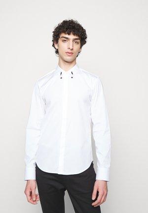 STARBOLT PRINTED COLLAR - Chemise - white/black