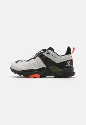 X ULTRA 4 GTX - Hiking shoes - lunar rock/black/cherry tomato