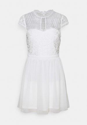 DREAM ON DRESS - Cocktailklänning - white