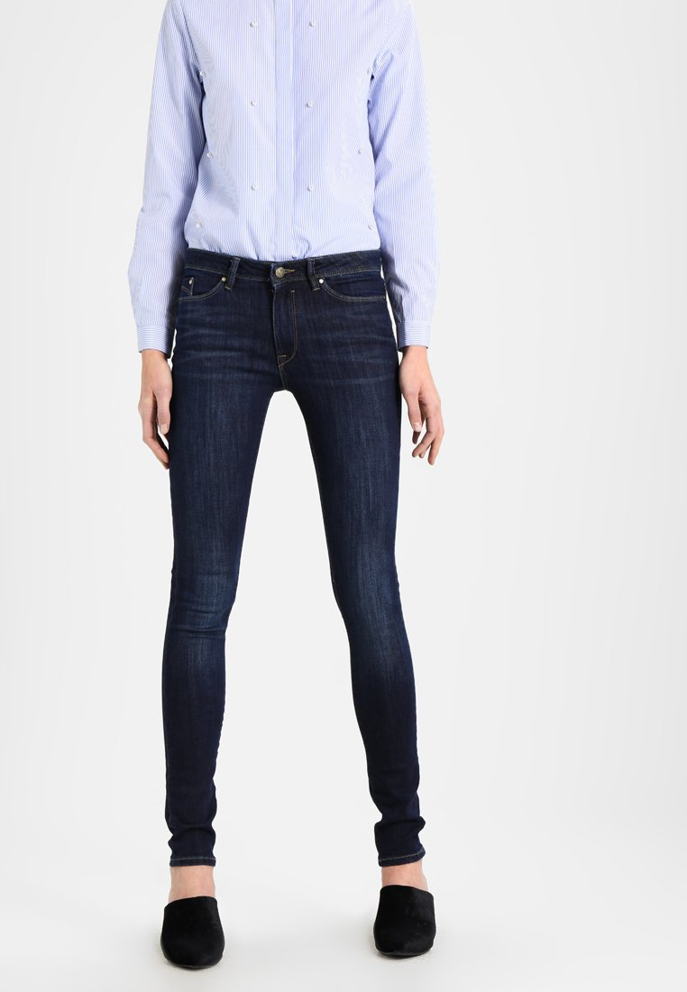 edc by Esprit - Jeans Skinny Fit - blue dark wash