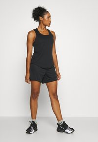 Nike Performance - DRY VICTORY ELASTIKA TANK - Funktionsshirt - black/reflective silver - 1