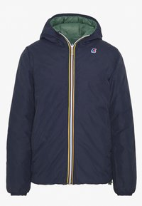 K-Way - UNISEX JAQUES THERMO PLUS DOUBLE - Winter jacket - blue maritime/green darkforest - 1