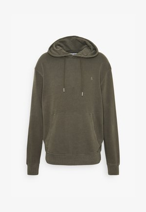 JJEWASHED HOOD - Sweat à capuche - forest night