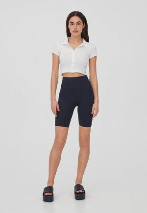 Shorts - mottled black