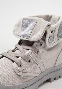 Palladium - VEGAN PALLABROUSSE BAGGY - Lace-up ankle boots - titanium/high rise - 6