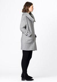 HALLHUBER - Classic coat - hell silber-melange - 2