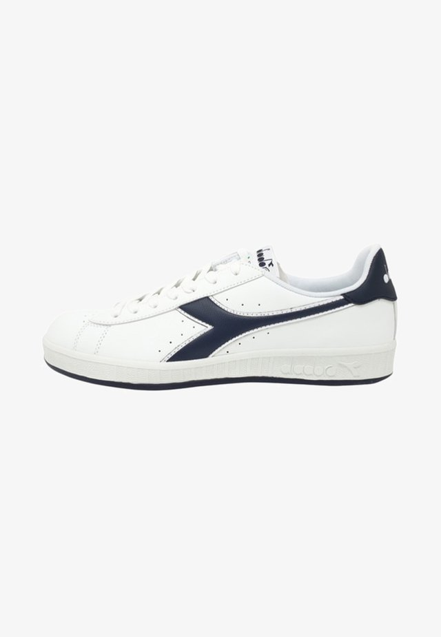 GAME - Sneakers basse - white/blue