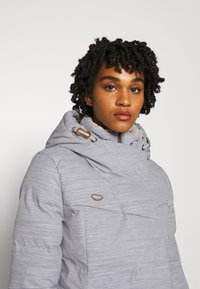 Ragwear - PAVLA - Vinterkåpe / -frakk - light grey - 3