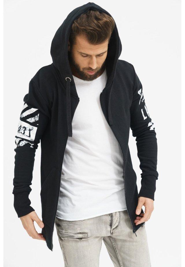 DANGERZONE  - Zip-up hoodie - black