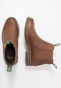 Barbour - FARSLEY - Kotníkové boty - dark tan - 1