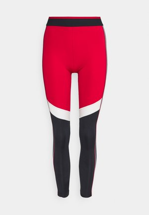 FULL LENGTH HERRINGBONE LEGGING - Leggings - primary red