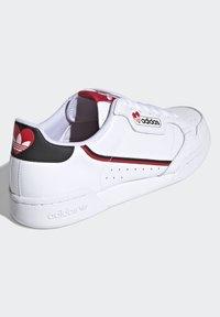 adidas Originals - CONTINENTAL 80 - Trainers - footwear white/core black/scarlet - 3