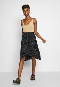 Kaporal - BASMA - A-line skirt - black - 1