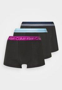 STRETCH TRUNK 3 PACK - Pants - plum/foggy blue/lake crest blue