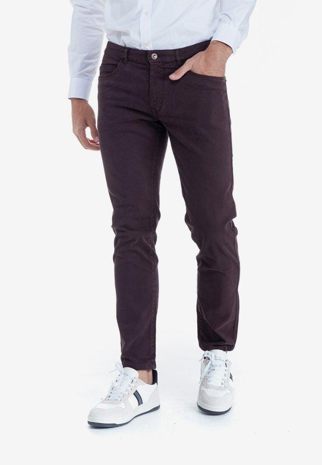 BASICO - Slim fit jeans - malva