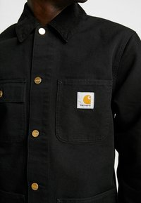 Carhartt WIP - MICHIGAN COAT DEARBORN - Kurtka wiosenna - black rinsed - 4