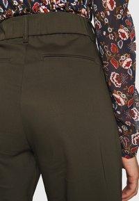 Ivy Copenhagen - ALICE WIDE PANT  - Pantalones - army - 3