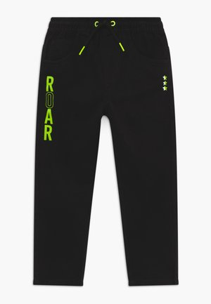 KIDS ROAR DINOSAUR - Trousers - black