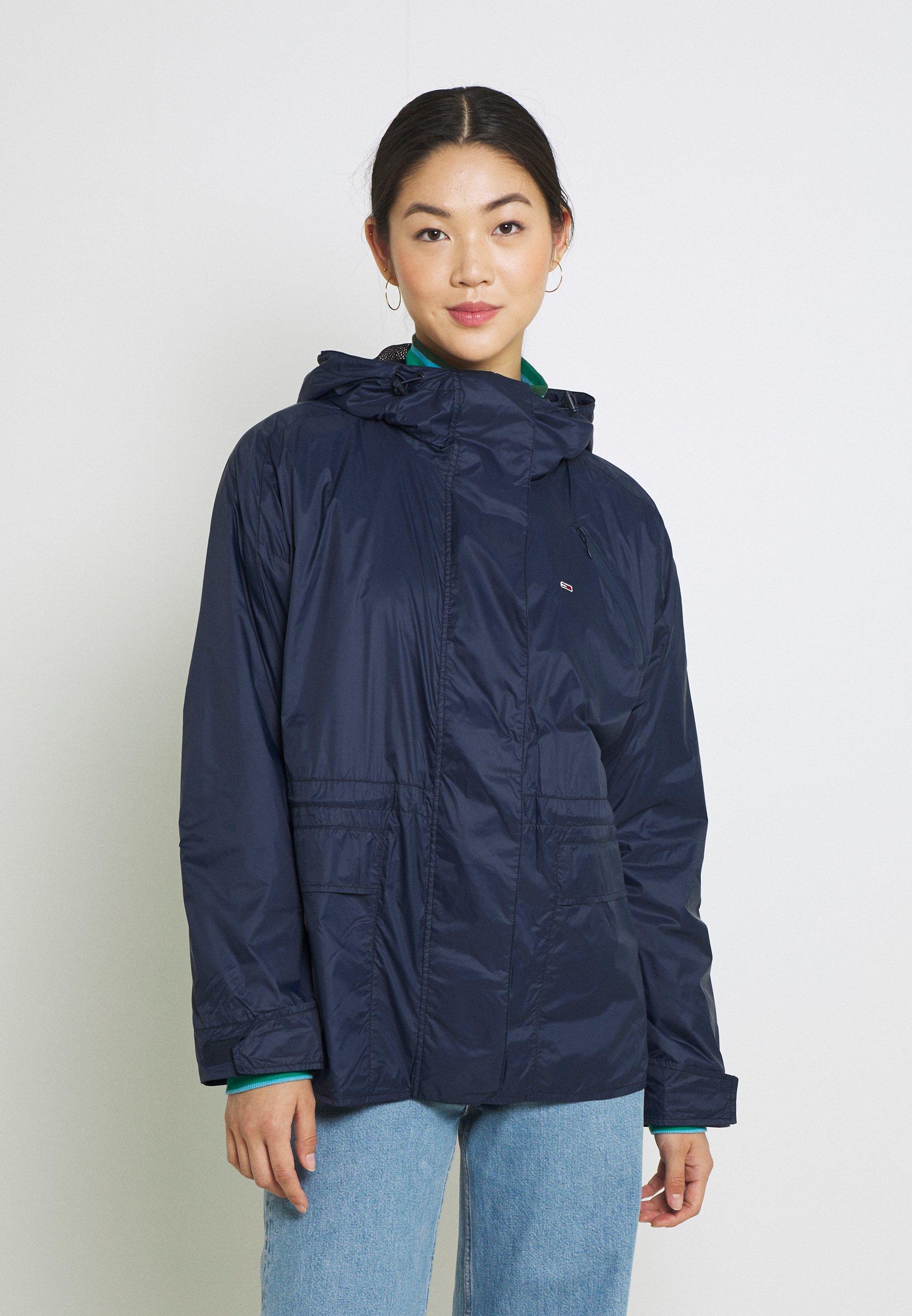 Women SOLID WINDBREAKER - Summer jacket