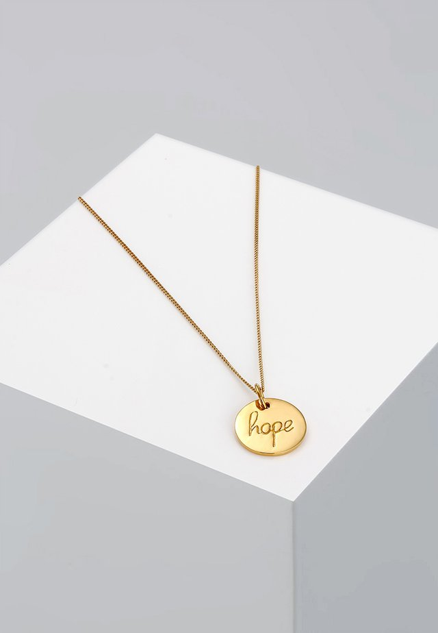 HOPE - Kaulakoru - goldfarben