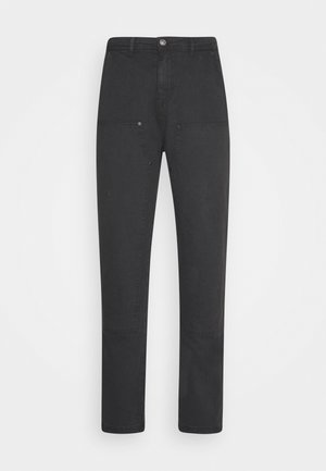 STRAIGHT PAINTERS PANT - Kalhoty - charcoal