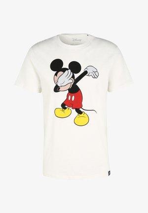 DISNEY MICKEY MOUSE DABBING - T-shirt print - ecru
