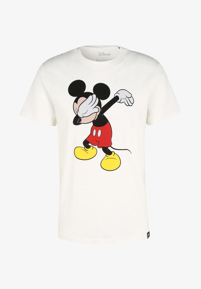 DISNEY MICKEY - T-shirt print - ecru
