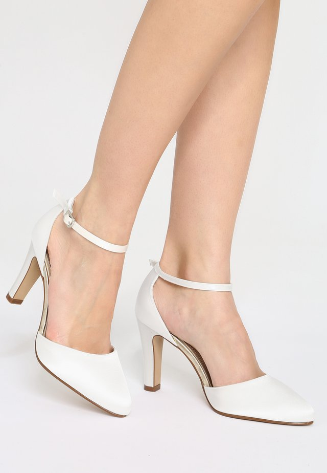 RAINBOW CLUB  DANA - High heels - ivory
