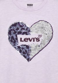 Levi's® - LOGO SPARKLE TEE - Camiseta estampada - lavender frost - 2