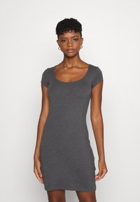 Even&Odd - 2 PACK - Vestido ligero - black/mottled grey - 4