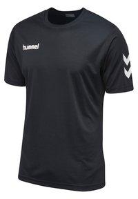 Hummel - CORE - Print T-shirt - black - 1