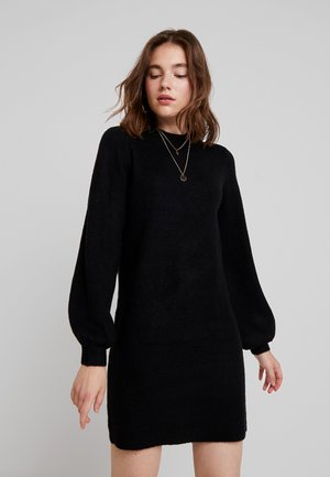 OBJEVE NONSIA - Jumper dress - black