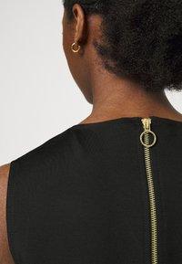 Versace Jeans Couture - LADY DRESS - Jersey dress - black - 3