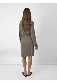Ro&Zo - Day dress - khaki - 1