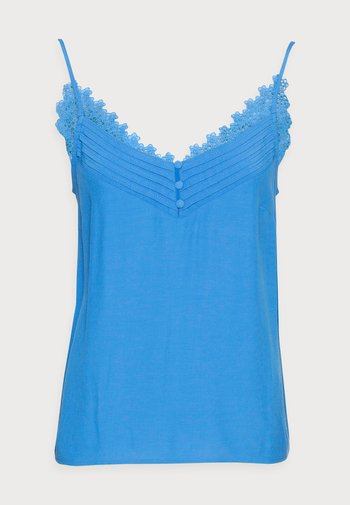 SUMMER DEB - Top - bleu fanion