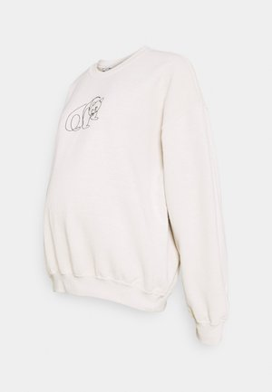 PANDA LINE - Sweatshirt - stone
